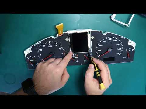 Easy DIY repair for your Porsche Cayenne or VW Touareg Instrument Cluster Pixel Problem