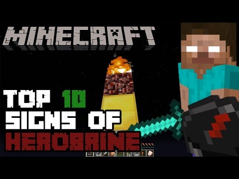 How to know if HEROBRINE is in your Minecraft World