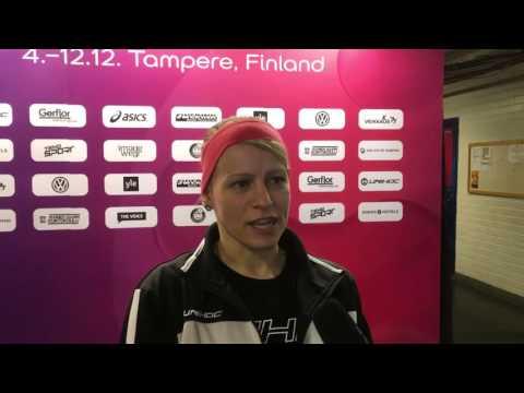 WFC 2015 GER - LAT | Interview: Katja Timmel