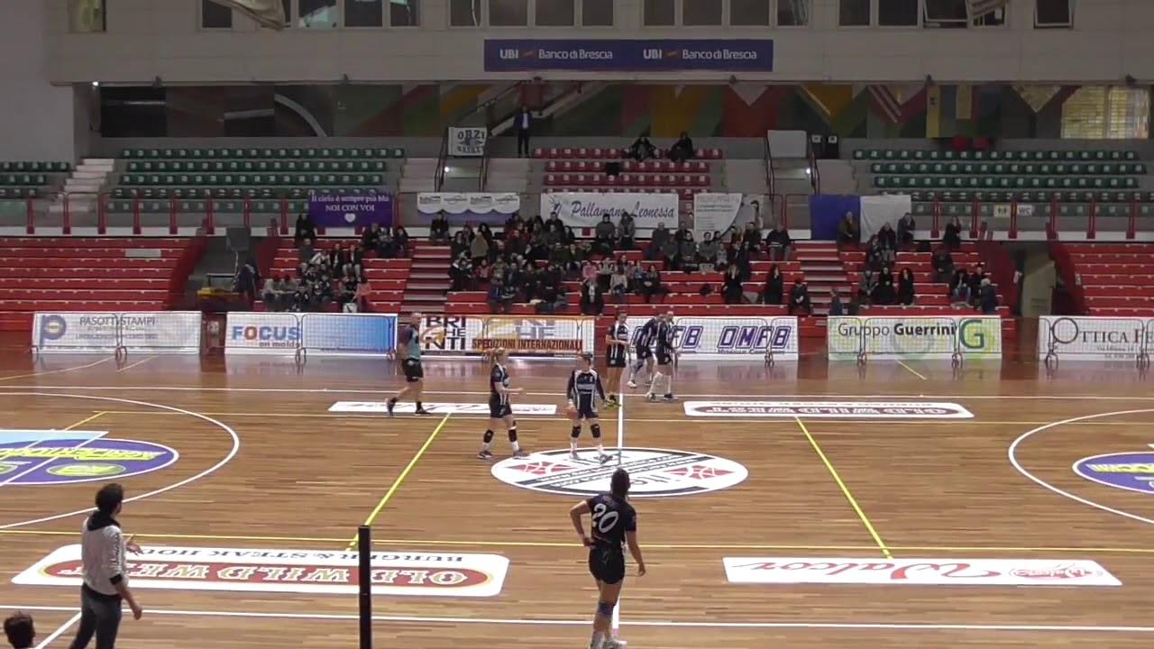 Serie A1F [18^]: Brescia - Salerno 25-30
