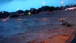 Huracán Alex en Cadereyta Jiménez, Nuevo León