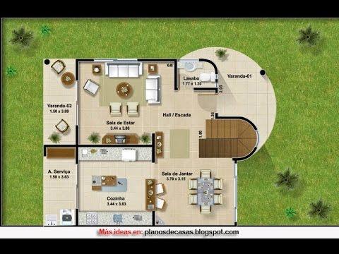 Planos de casas de campo rusticas youtube for Planos de casas de campo rusticas