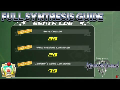 Kingdom Hearts 3 - Full Synthesis Guide