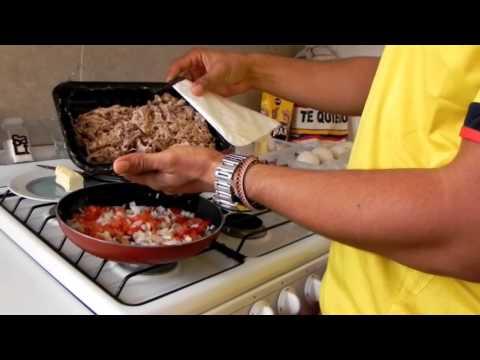 13 pasos para hacer una deliciosa Arepa rellena COLOMBIANA