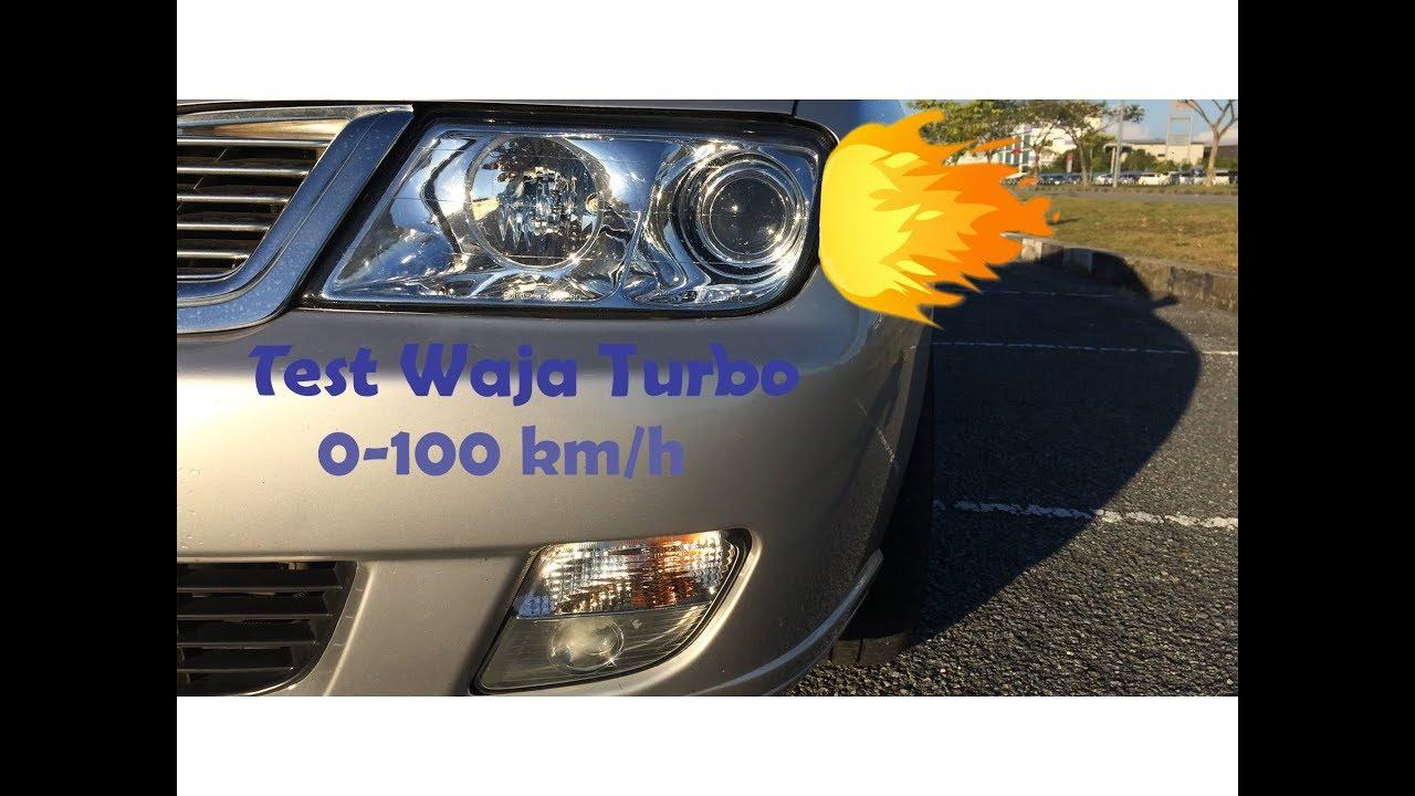 4G18 Waja Turbo Test 0-100km/h 🚗 FASTER Than Other Ori Waja???