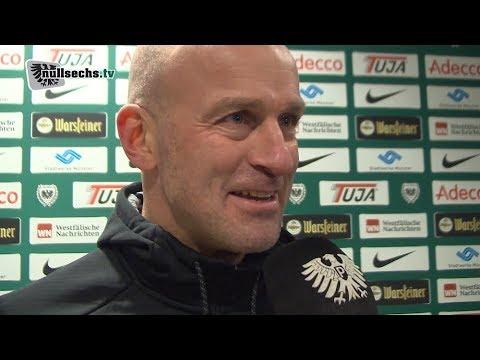 25. Spieltag: SC Preußen Münster vs. Hansa Rostock