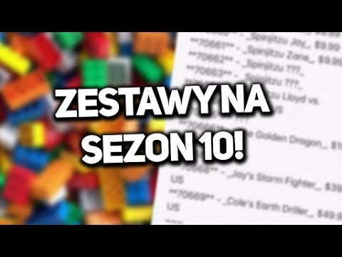 Zestawy Na Sezon 10 Z Lego Ninjago Youtube