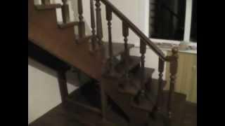 Деревянные лестницы в Санкт-Петербурге(Заказать деревянную лестницу в Санкт-Петербурге по телефону 8 (812) 424-37-54, www.vip-remont.com лестница спб, лестницы..., 2013-06-09T10:03:34.000Z)