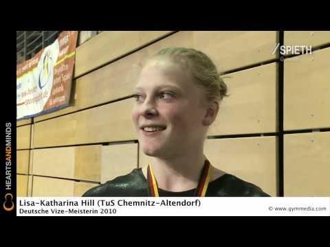 Interview: Lisa-Katharina Hill (TuS Chemnitz-Altendorf), Deutsche Vize-Mehrkampfmeisterin 2010