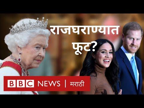 Prince Harry-Meghan:शाहीपरिवारातूनबाहेरपडण्याचाअर्थ|Queen Elizabeth,