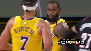 Los Angeles Lakers vs Portland Trail Blazers | August 29, 2020