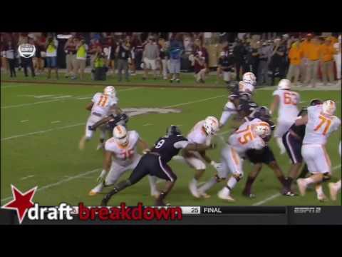 Josh Dobbs vs South Carolina (2016)