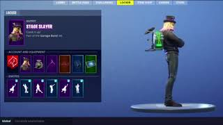 New Skin Stage Slayer (Fortnite)