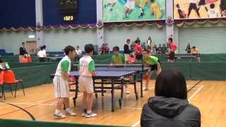 2014-2015 Bonaqua 全港學界精英乒乓球比赛8