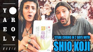 *FAIL* Steak Curing with SHIO KOJI  | Yael & Roy's Mania