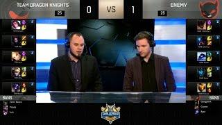 NME vs TDK Highlights Game 2 - Enemy vs Team Dragon Knights - 2016 NA Challenger Spring