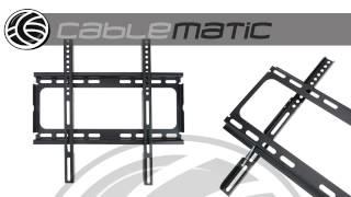 "Soporte TV de pared fijo para pantalla de 26""-55"" modelo MF4020 distribuido por CABLEMATIC ®"