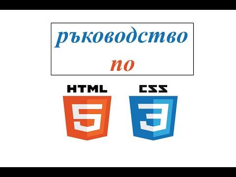 Падащо меню с помощта на HTML & CSS