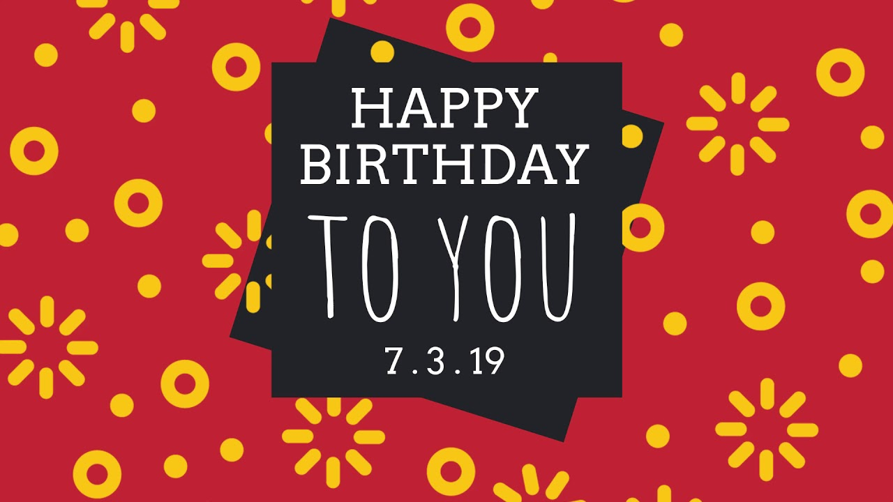Customize Our Birthday Card Templates - Hundreds To Choose From