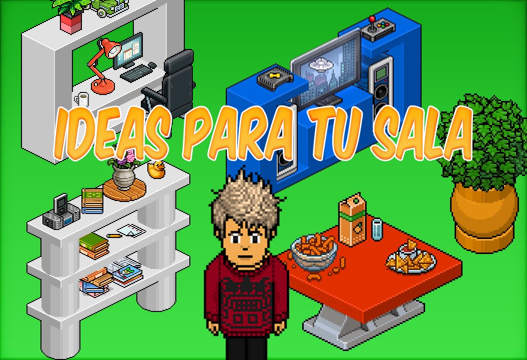 Decoraciones para tu casa en habbo 5 ft naturales youtube for Decoraciones para tu casa