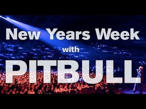 Spend New Year's Week With Pitbull!