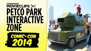 Comic-Con 2014 - Petco Park Interactive Zone (2014) HD