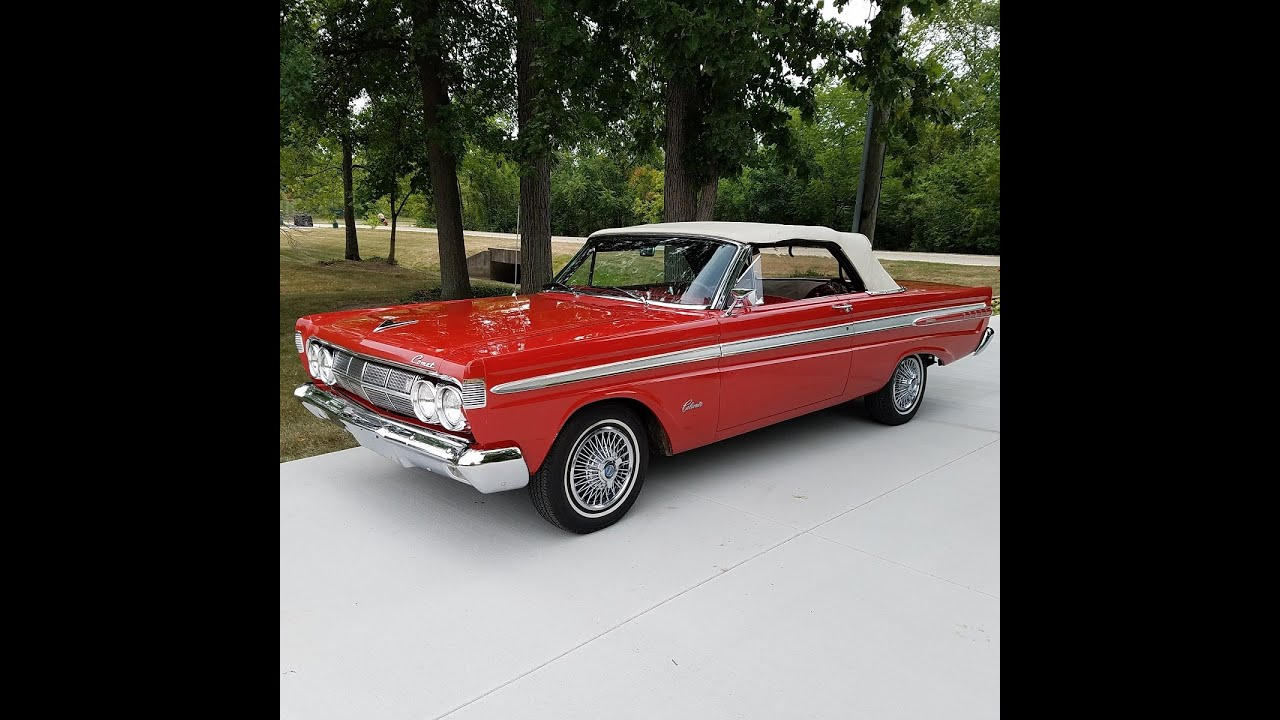 Auto appraisal 1964 Mercury Comet Conv\'t. Pre purchase inspection ...