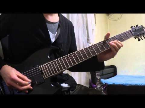 Unearth - Zombie Autopilot - (guitar cover)