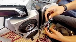 Eve oto ses sistemi yapmak ( teyp kablo bağlantısı ).