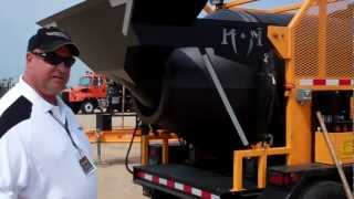 Video still for Towmaster Expo -  Model T2 KM International Asphalt Recycler