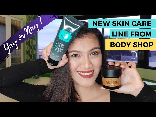 Nicaraguan Coffee Mask and Himalayan Clay Mask by BODYSHOP | REVIEW!
