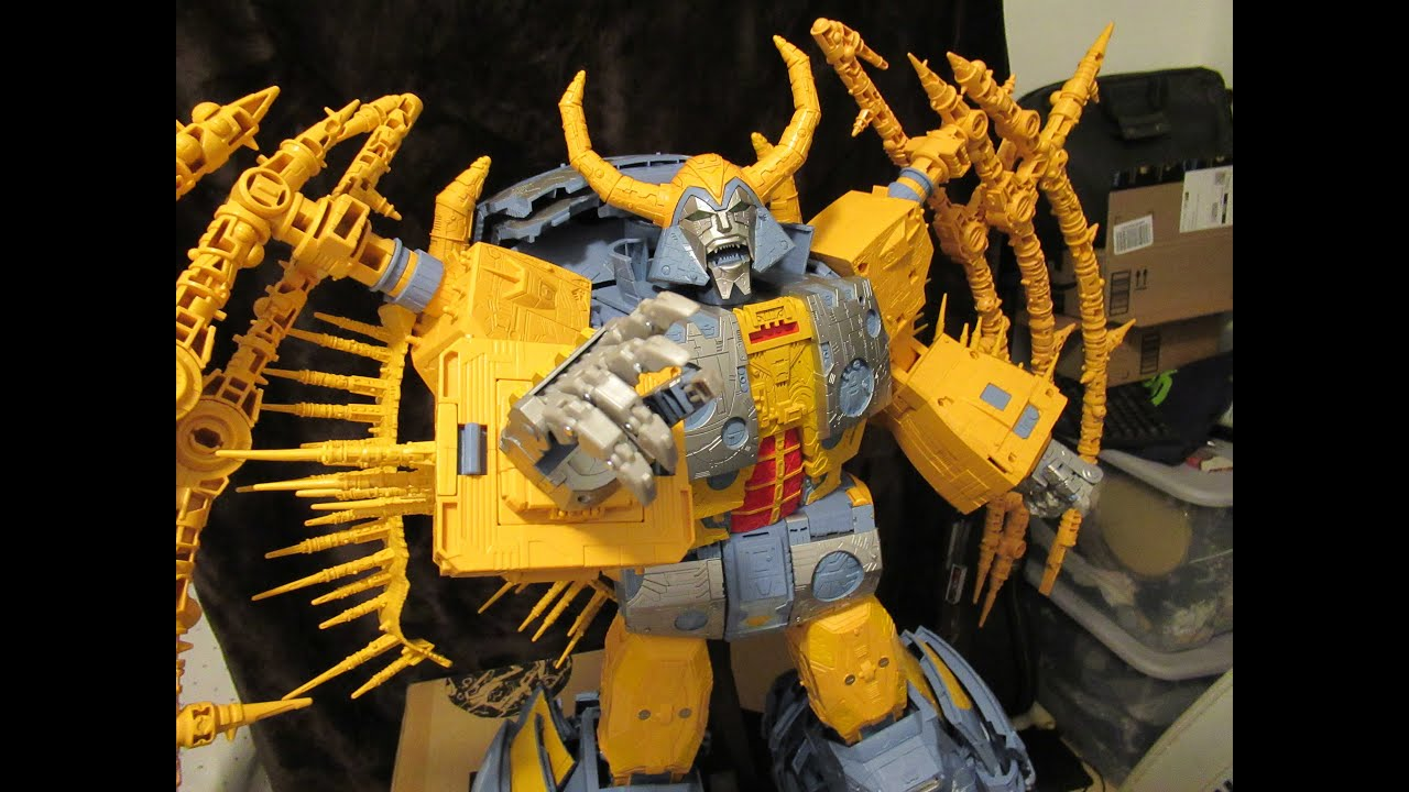 NEW Transformers WFC HasLab Unicron Review by CannibalChow