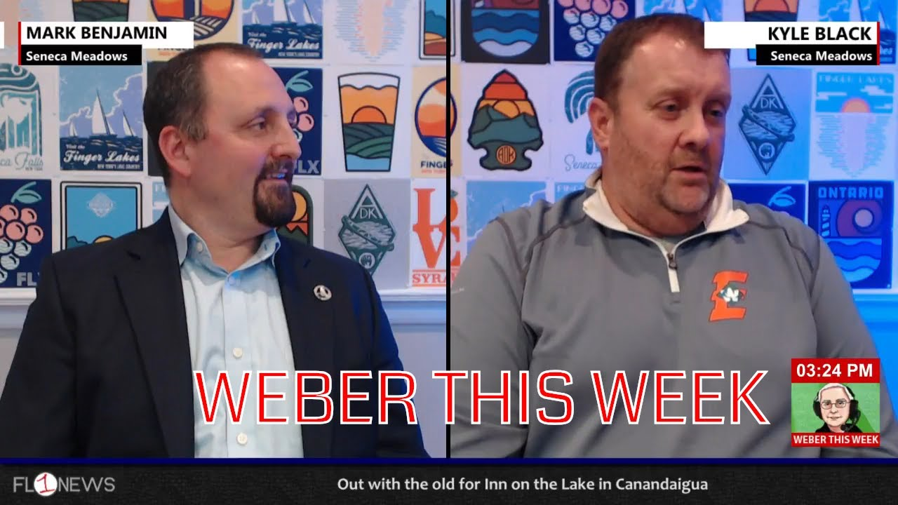 Kyle Black & Mark Benjamin of Seneca Meadows .::. Weber This Week 10/22/18