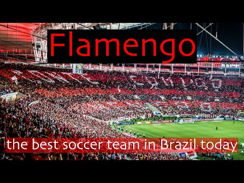 Flamengo The Best Soccer Team In Brazil Today Youtube