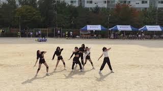 동학중학교 댄스부 홀릭 체육대회 공연 영상|power/…