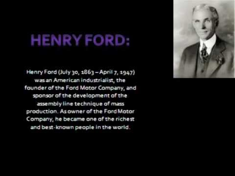 a biography of henry ford the founder of the ford company Ford motor company: ford motor company, american automotive corporation founded in 1903 by henry ford and one of the world's largest automakers.