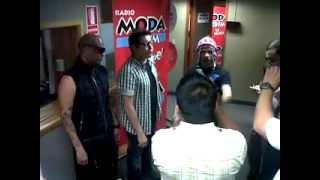 Jowell y Randy en peru - Entrevista en Radio moda - presente MARCASHOES PERU