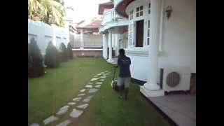 Sri Lanka Landscape Lawn Trimming -gardening