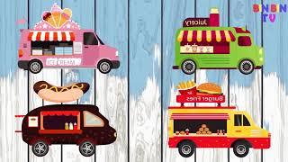 Learn Colors Wrong Keys Monster Truck for Kids #w | Street Vehicles for Children | Lightning Mcqueen
