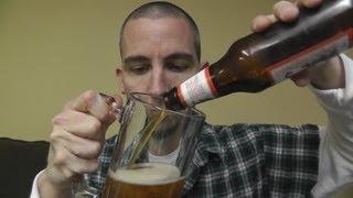 Asmr Beer Review 5 - Saranac Big Moose Ale & Tangram Puzzle Solving
