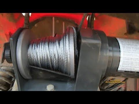 Harbor Frieght 2500 Winch -  Failure