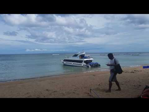 The Glory Express Fast Boat from Sanur to Lembongan in Bali, Indonesia