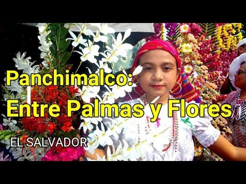 Panchimalco Festival de Las Palmas y Las Flores