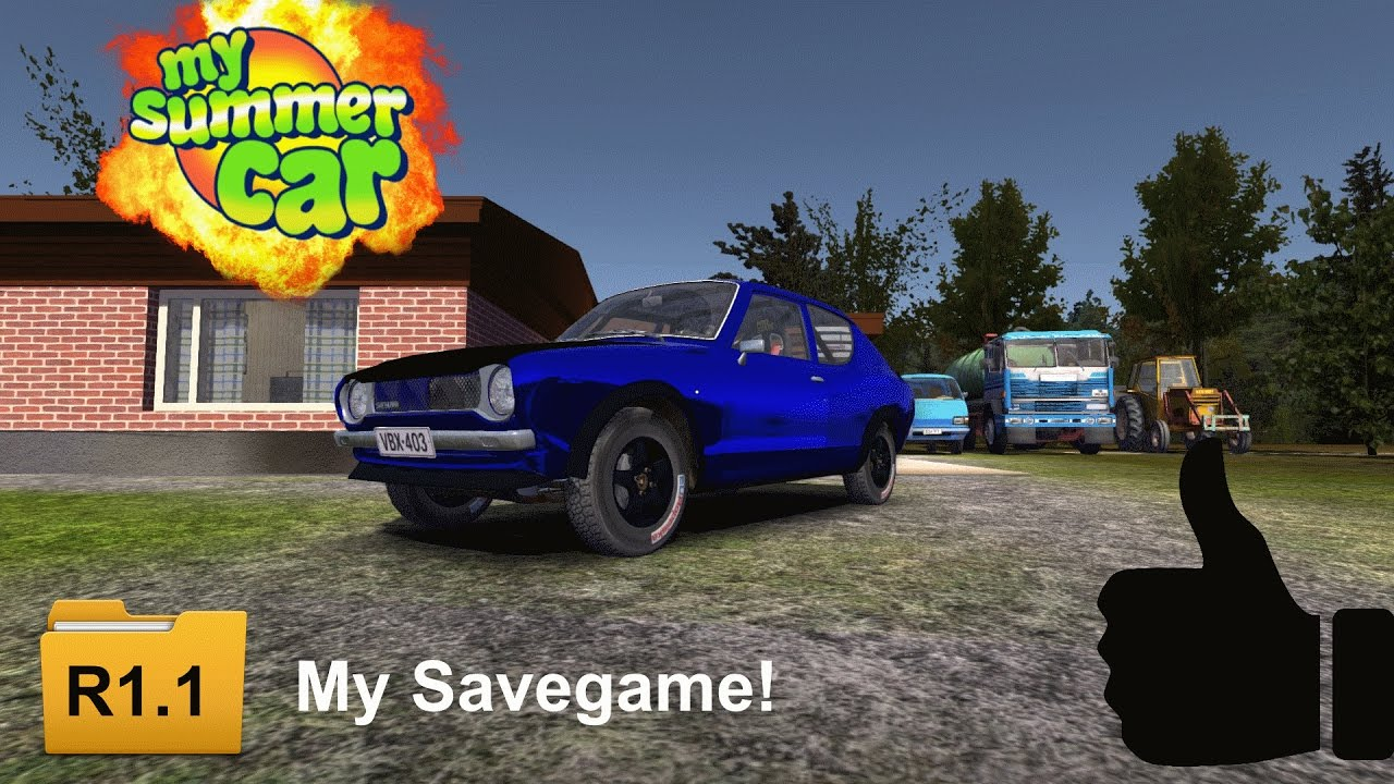 My Summer Car Game Save Download