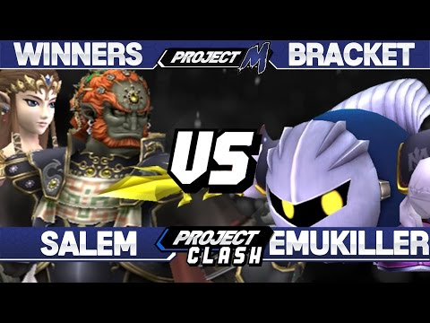 Project M - Salem (Ganondorf/Zelda) vs Emukiller (Meta Knight) - PC 14 Winners