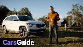 Skoda Kodiaq 2017 review: first Australian drive video