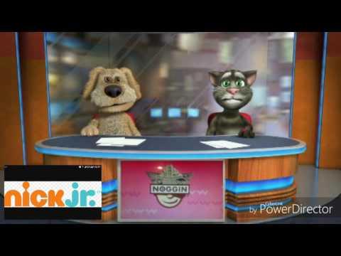 Talking Tom & Ben News on Nick Jr 2009