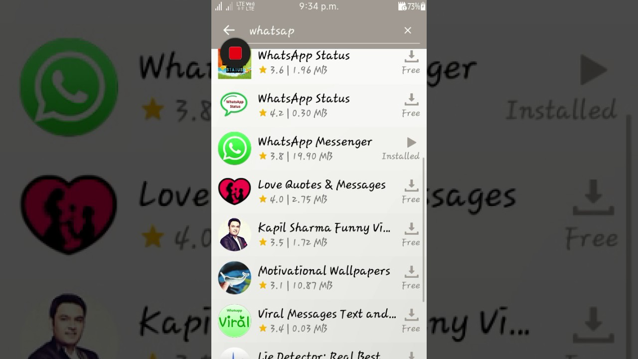 how to download whatsap in tizen mobile in tizen store