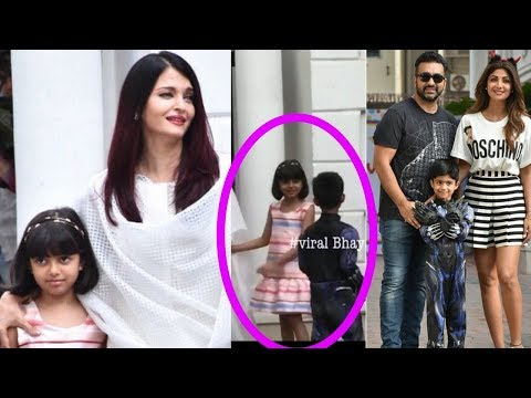 Full Video : Aaradhya Bachchan and Viaan Kundra's lovely moments in birthday party |Soo cute