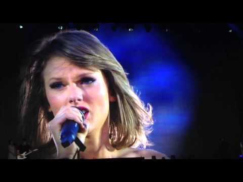 'Clean Speech' by Taylor Swift - Hyde Park 2015